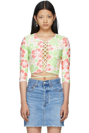 OMIGHTY Hibiscus Cut-Out T-Shirt