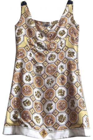 Hermès Silk mid-length dress