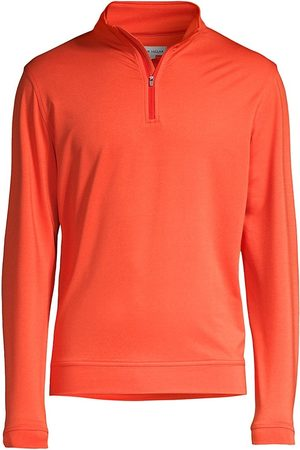 Peter Millar Perth M lange Performance Quarter-Zip Sweater