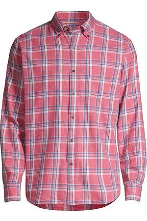 Peter Millar Sherbrook Cotton-Blend Button-Down Sport Shirt