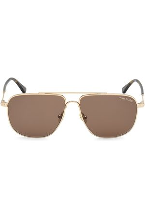 Tom Ford 58MM Rose Navigator Sunglasses