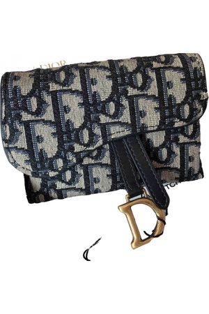 Dior Saddle cloth clutch bag