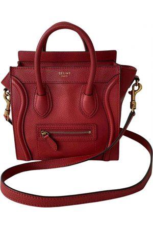 Céline Nano Luggage leather mini bag
