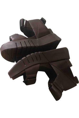 united nude Pony-style calfskin sandal