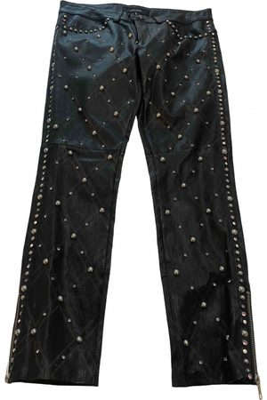 Isabel Marant Leather carot pants