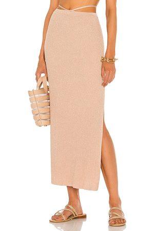 DEVON WINDSOR Sage Skirt in Rose.