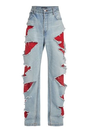 Balenciaga Jeans with holes