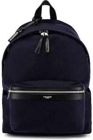 Saint Laurent City Backpack in