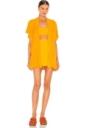 SIMON MILLER Lono Kimono in ,Yellow.