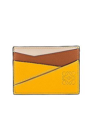 Loewe Puzzle Cardholder in Mustard
