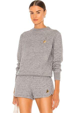 Golden Goose Athena Sweatshirt in Grey.