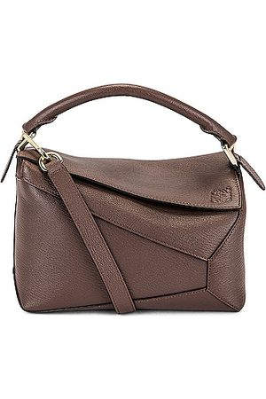 Loewe Puzzle Edge Small Bag in Taupe