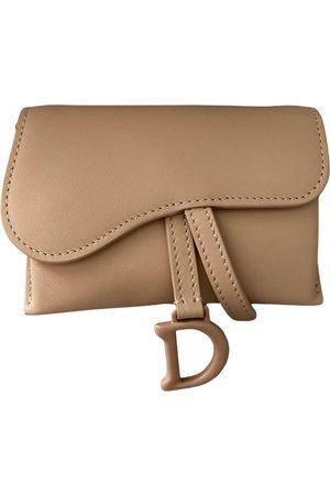 Dior Saddle leather clutch bag