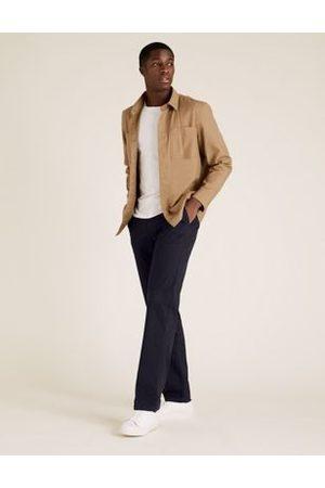 Marks & Spencer Shorter Length Regular Fit Stretch Chinos