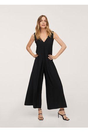 MANGO Long strap jumpsuit