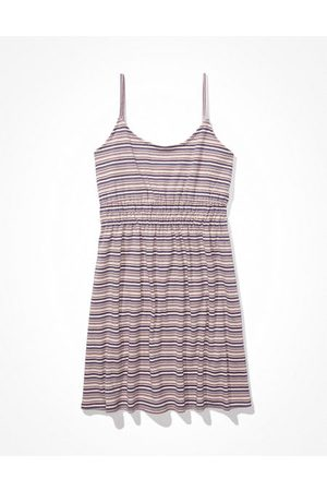 American Eagle Outfitters Women Party Dresses - Striped Fit Flare Mini Dress Women's XXS