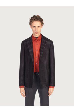 Salvatore Ferragamo Men Single breasted jacket