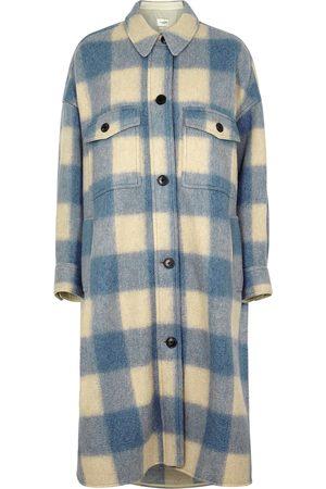 Isabel Marant Étoile Women Coats - Fontizi checked flannel coat