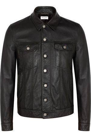 Saint Laurent Men Leather Jackets - Leather jacket