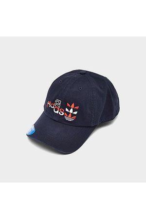Adidas Men's Originals Logo Play Adjustable Strapback Hat 100% Cotton