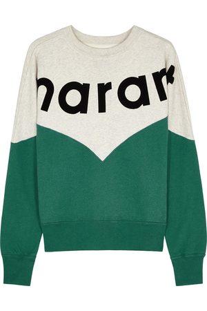 Isabel Marant Étoile Women Sweatshirts - Houston logo cotton-blend sweatshirt