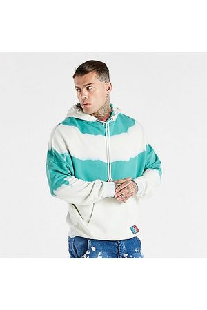 Siksilk Men's X Space Jam Oversized Hoodie in /White/Teal Size Small Cotton/Polyester/Silk