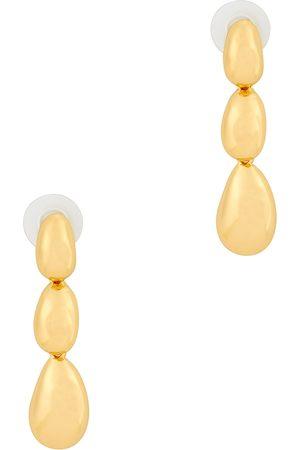 Kenneth Jay Lane Women Earrings - Tone drop earrings