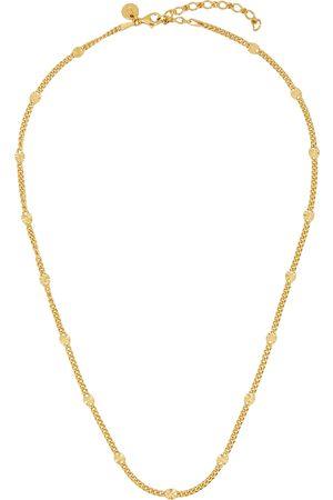 Daisy London Women Necklaces - X Estée Lalonde Sunburst 18kt -plated chain necklace