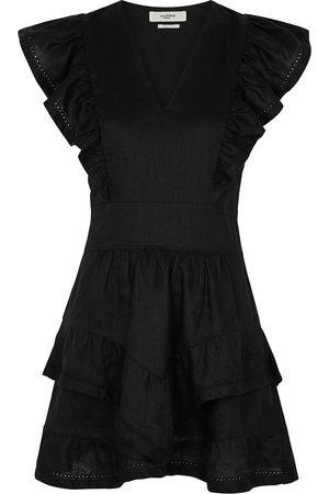 Isabel Marant Women Party Dresses - Audreyo linen mini dress