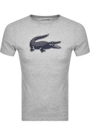 Lacoste Sport Crew Neck T Shirt Grey