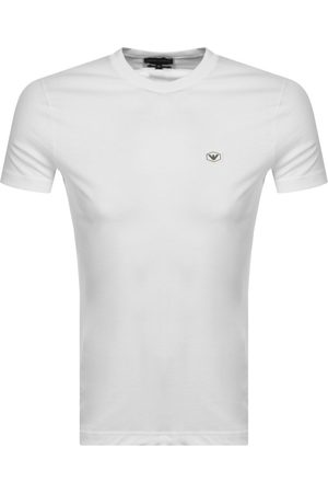 Armani Emporio Short Sleeved Logo T Shirt