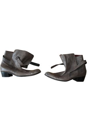 Jean-Michel Cazabat Leather boots