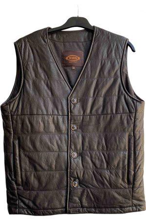 Tod's Leather vest