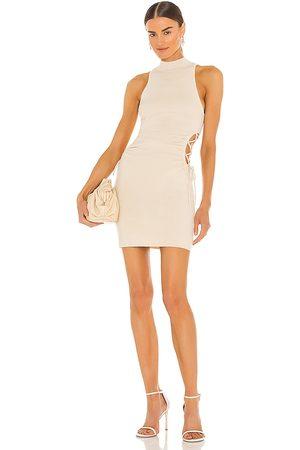 h:ours Eliska Dress in Ivory.