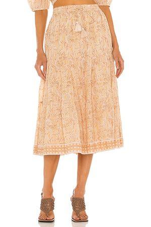 Cleobella Chelsea Skirt in Beige.
