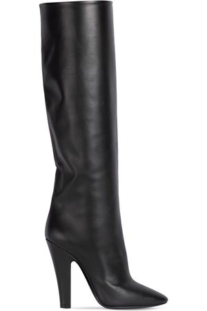 Saint Laurent 110mm 68 Tube Leather Tall Boots