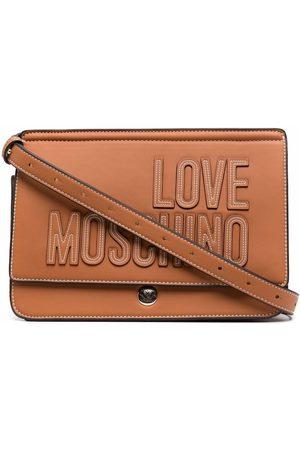 Love Moschino Women Purses - Logo-embroidered satchel