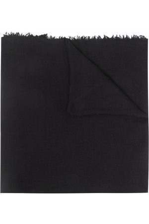 Rick Owens Frayed-edge scarf
