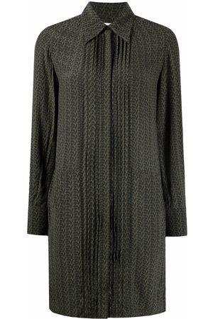 Zadig & Voltaire Women Casual Dresses - Monogram-print shirt dress