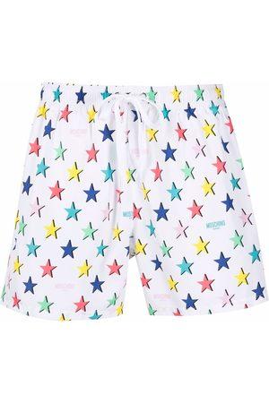 Moschino Star-print swim shorts