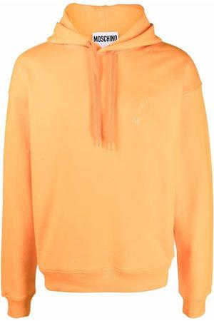 Moschino Men Hoodies - Tonal-logo printed hoodie