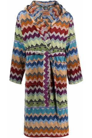 Missoni Bathrobes - Striped hooded robe