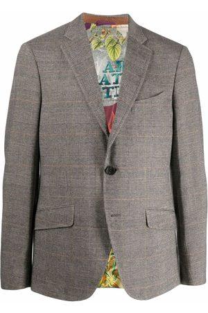 Etro Men Blazers - Notched-lapel single-breasted blazer