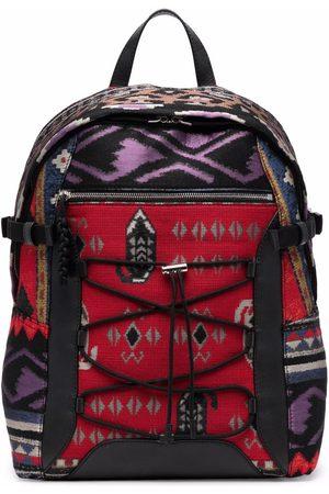 Etro Men Rucksacks - Abstract-print backpack