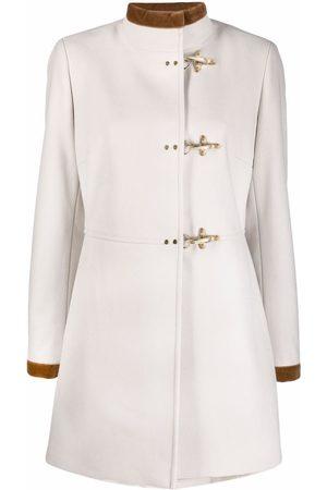 FAY Funnel neck duffle coat - Neutrals
