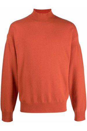 Z Zegna Men Turtlenecks - Fine-knit high-neck jumper