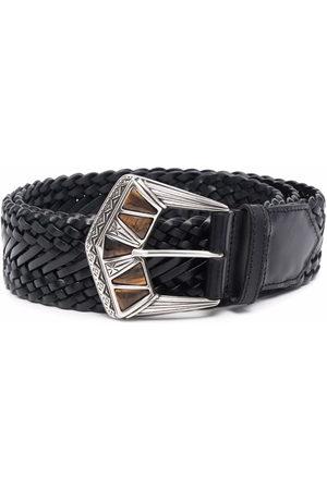 Etro Women Belts - Embossed buckle belt
