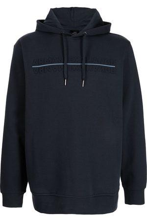 Armani Debossed-logo hoodie