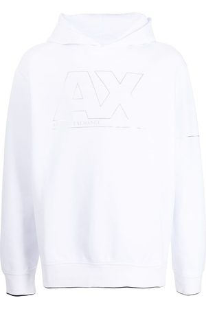 Armani Logo-print hoodie