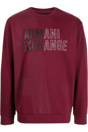 Armani Logo-print long-sleeved T-shirt